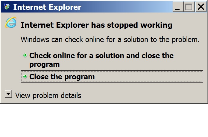IE 11 has stopped.jpg