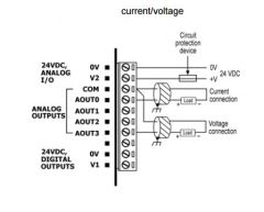 V200 18 E3XB Analog Output