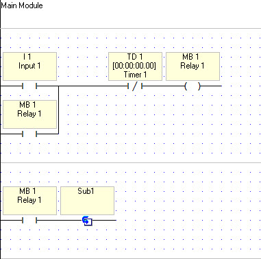 Regarding the use of sub-routines in VisiLogic to model states