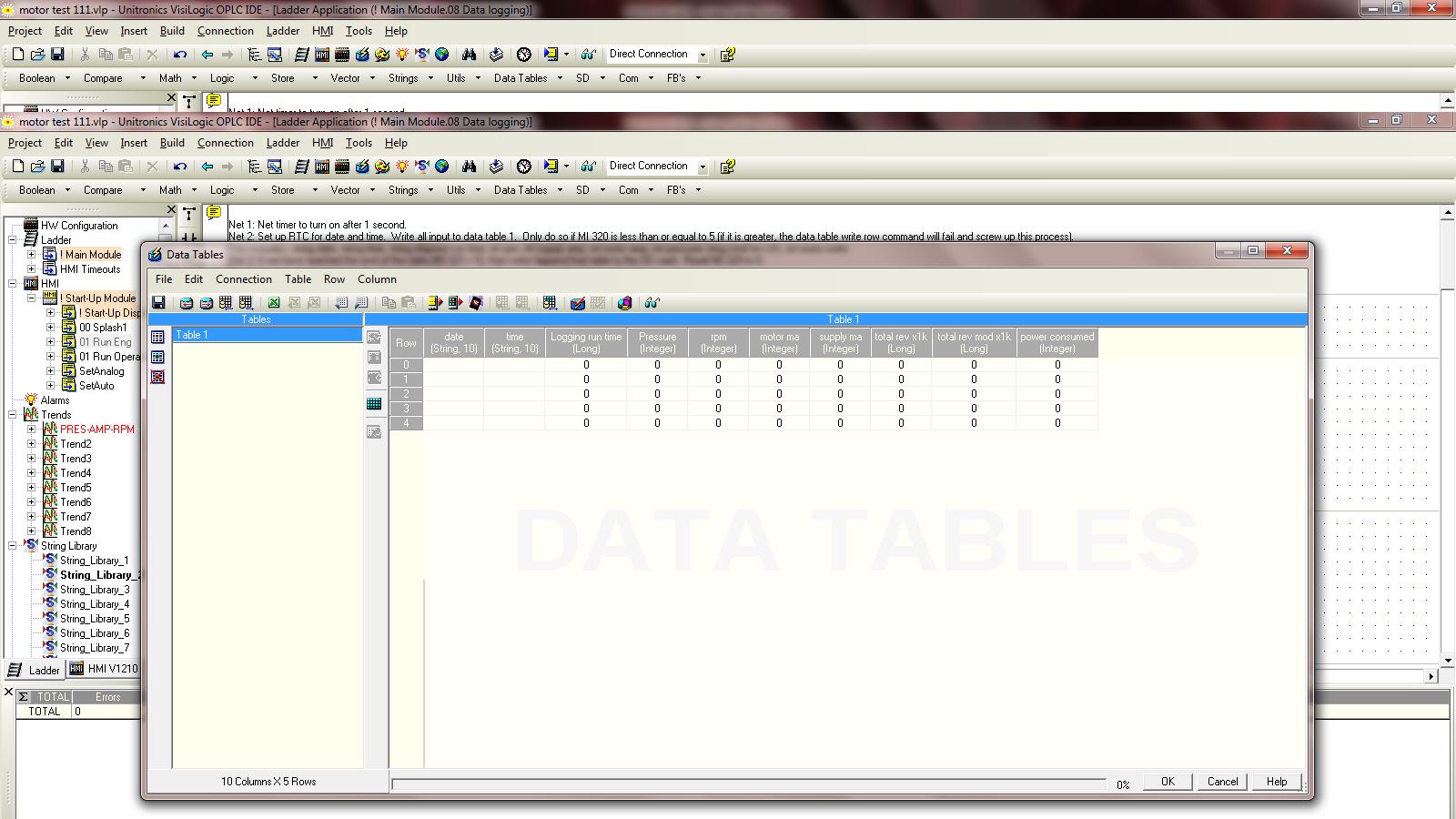 Data Logging stops after ~30 minutes - Vision & Samba PLC +