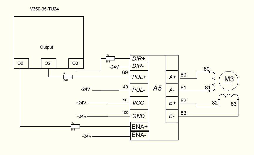 High Speed Output(Step Control) - Vision & Samba PLC + HMI