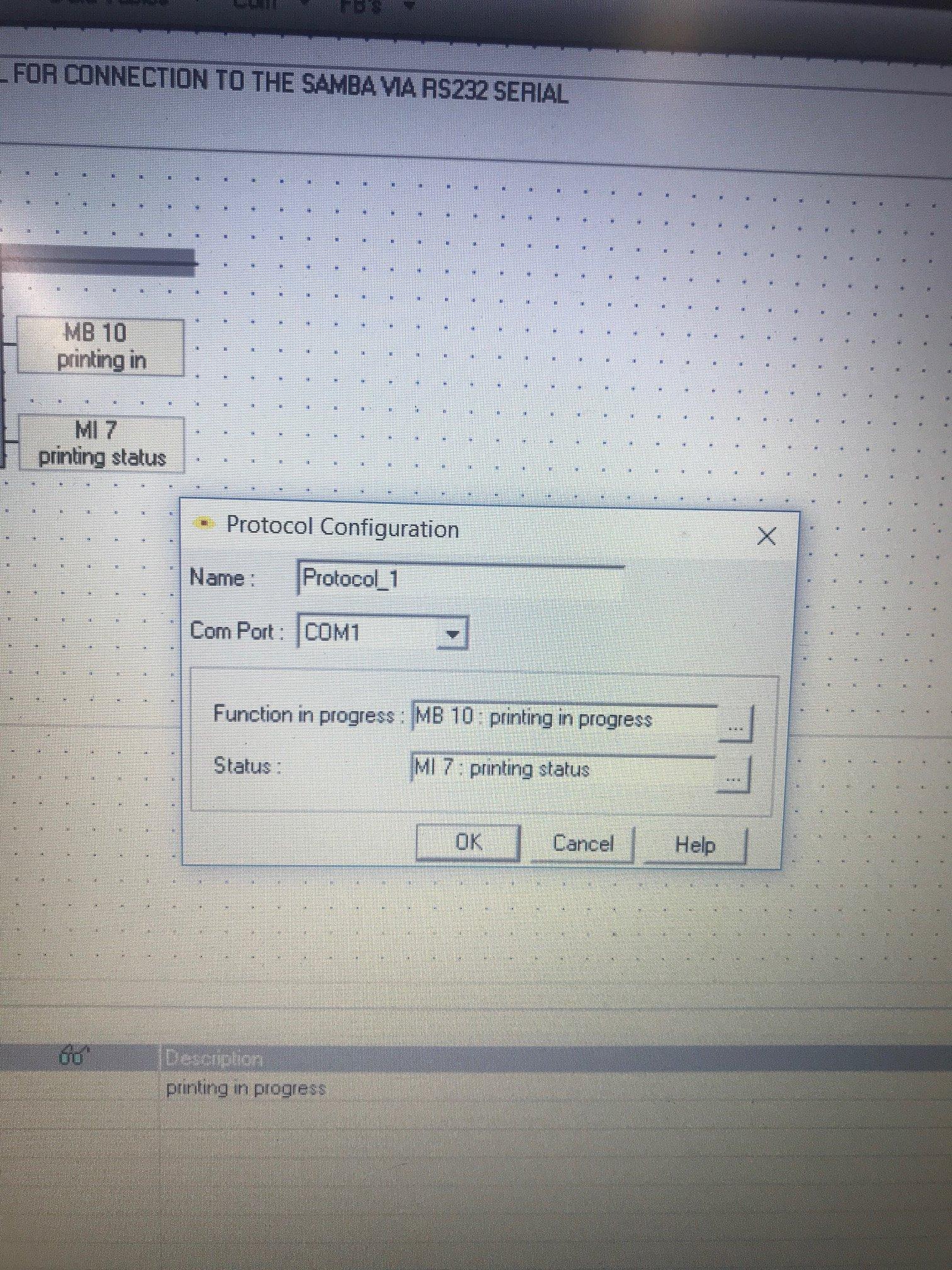 printing to Zebra GK420D EPL - Vision & Samba PLC + HMI Controllers