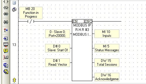 Problems to send data over Modbus TCP - Vision & Samba PLC +