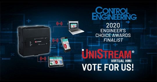2020 Engineer's Choice Awards: Vote Unitronics!