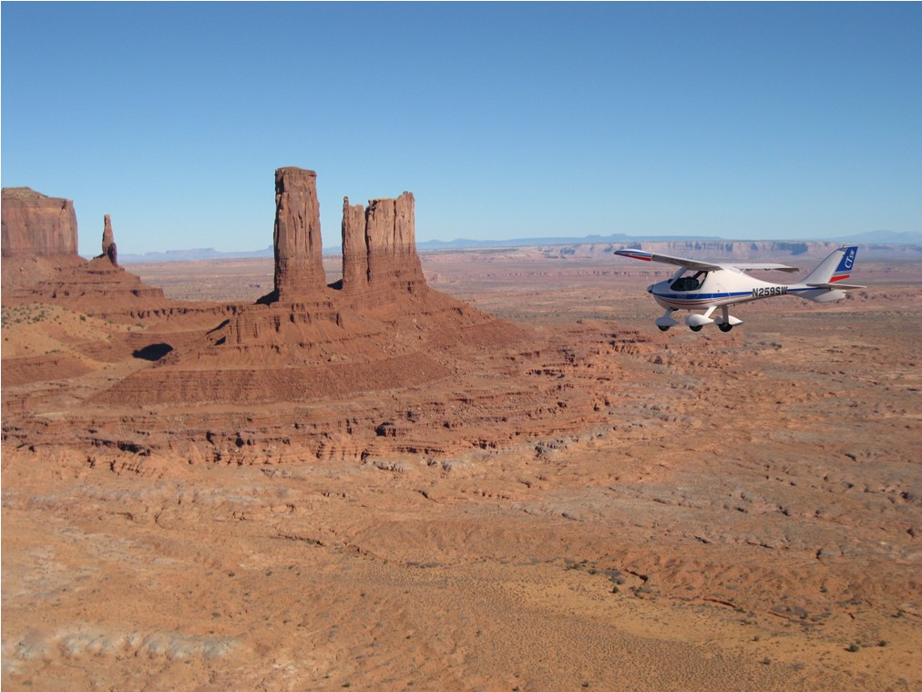 Monument Valley - 2009 Page Fly-in