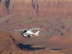 Over Marble Canyon, the Vermilion Cliffs