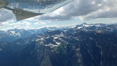 North Cascades from N385DM