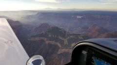 Over the Grand Canyon Oct. 2016
