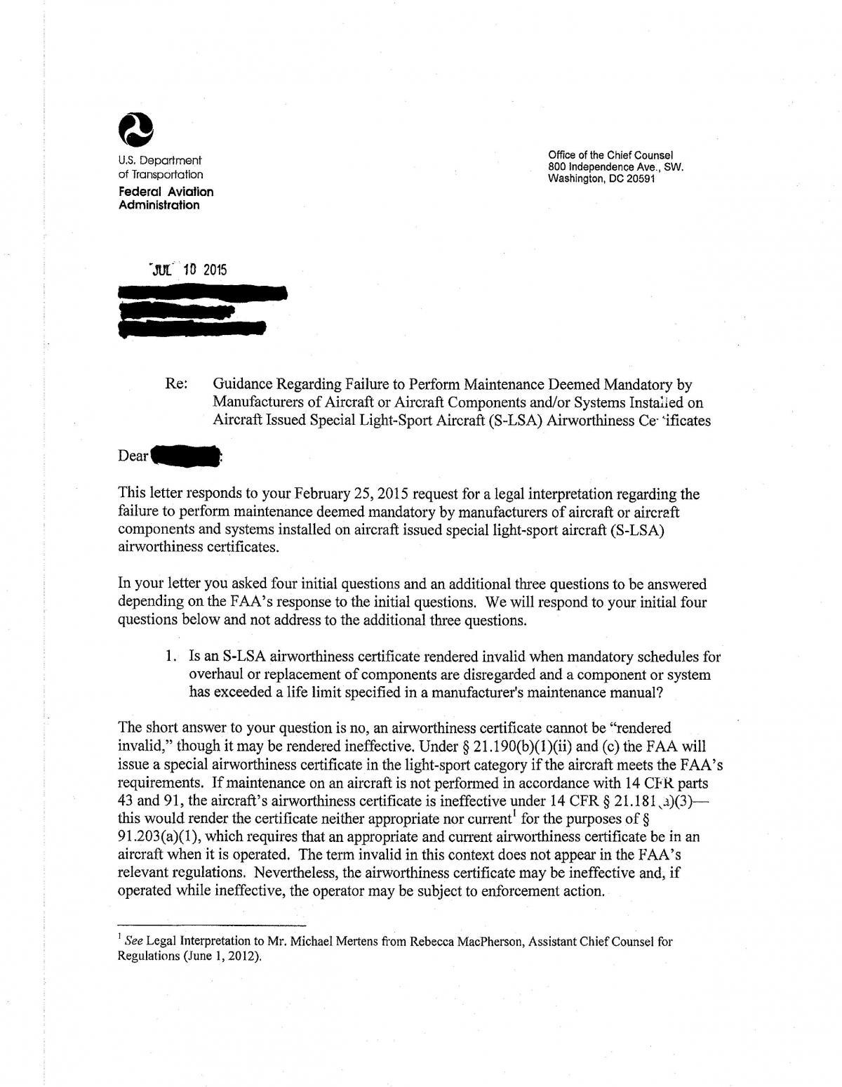 faa response to mandatory maintenance intervals engine rotax ct rh ctflier com Bobcat Manuals PDF Eaton Transmission Parts Manual