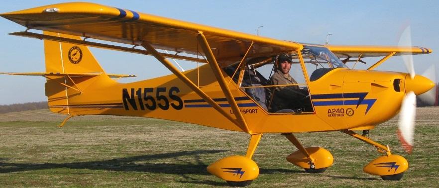 Aerotrek A240 - Light Sport/Sport Pilot - CT Flier Forum