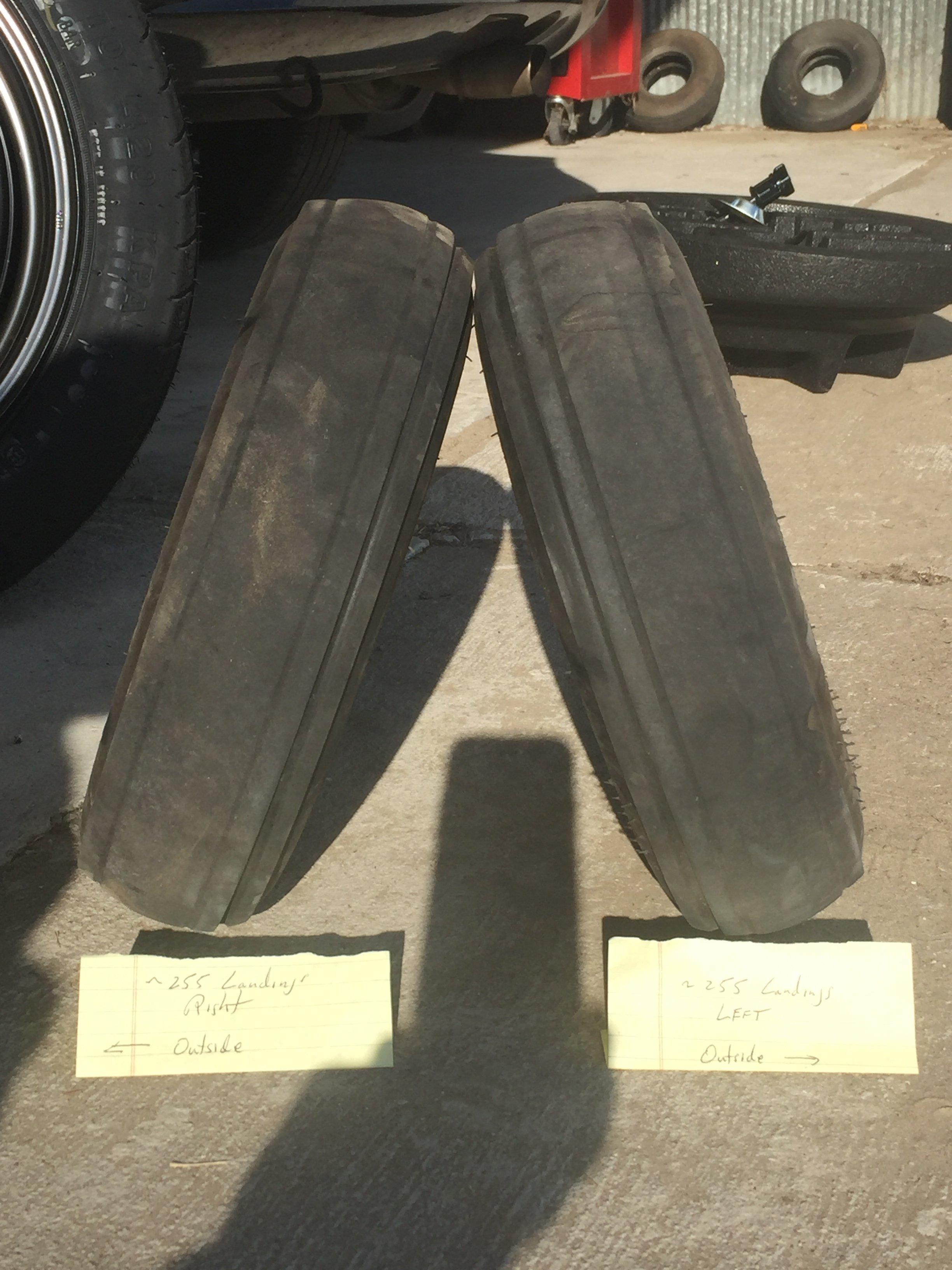 Tire Wear Pattern General Maintenance Ct Flier Forum