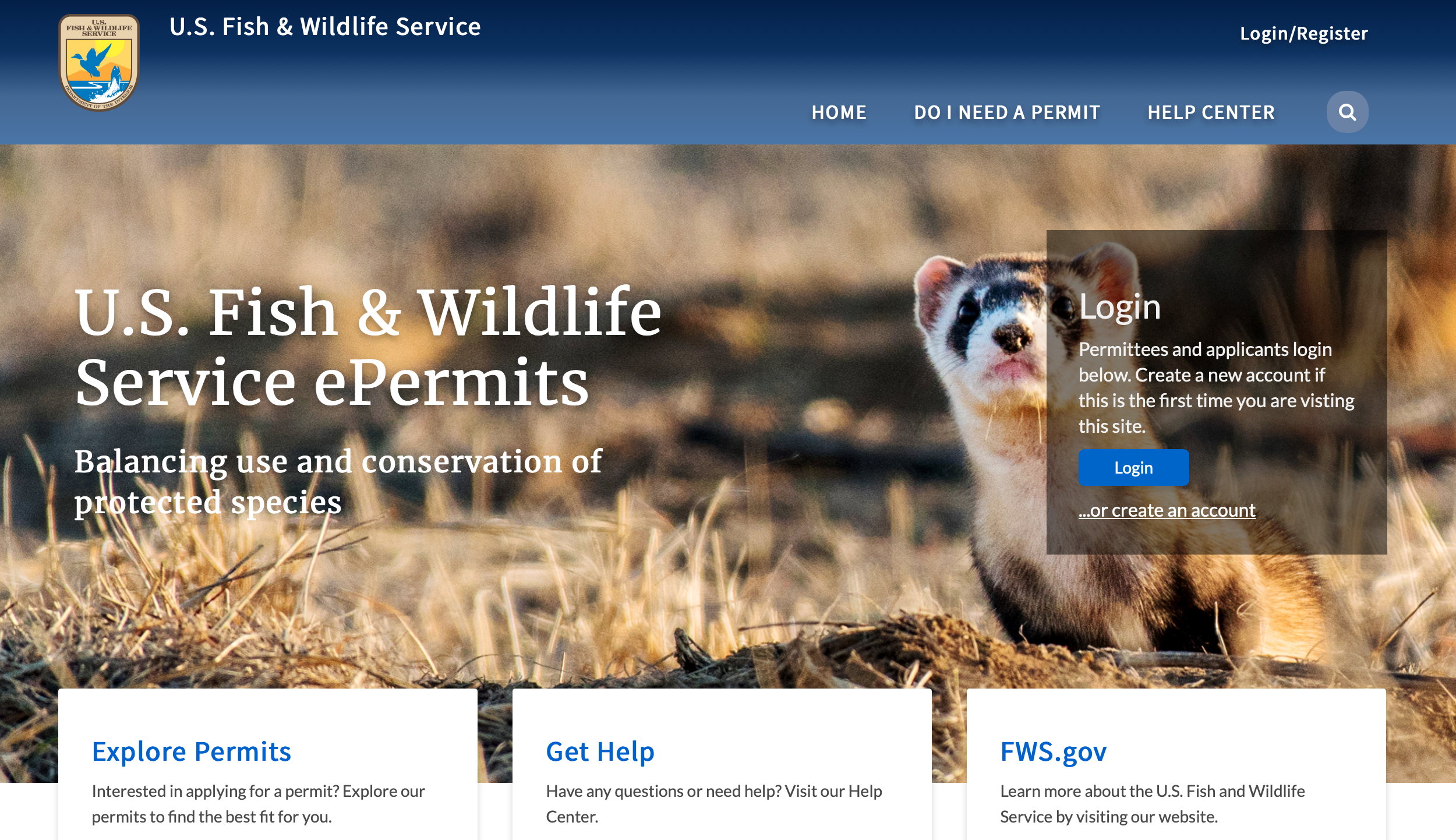 Read more about USFWS launches new online permit system