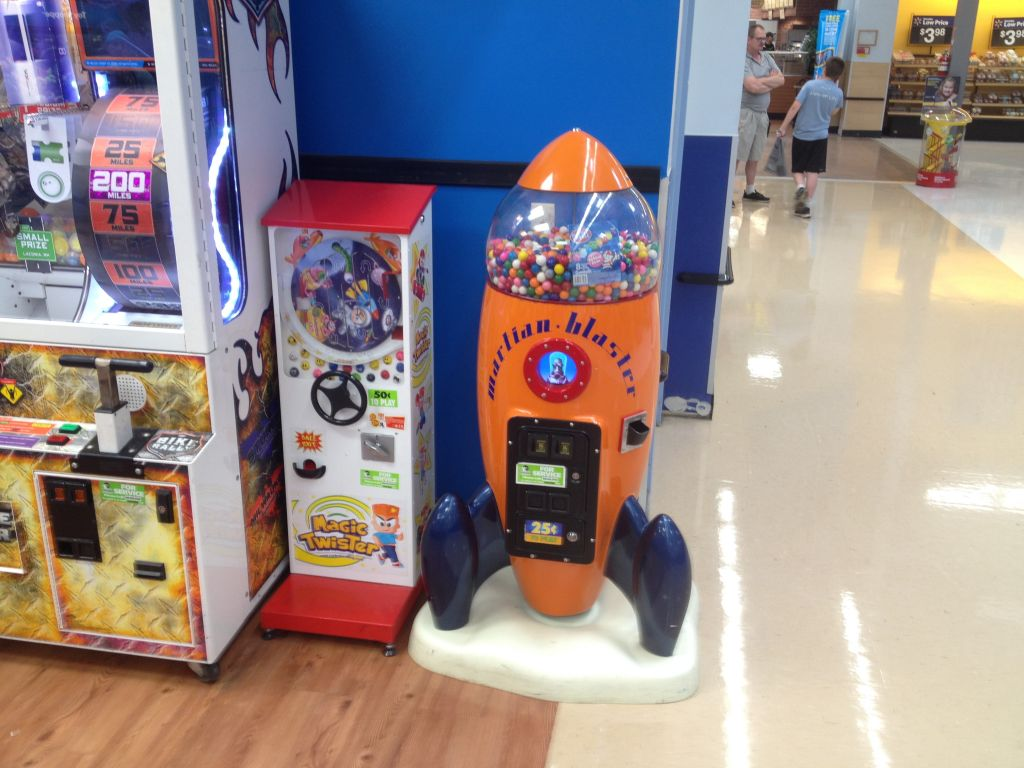 Entervending Twister and Vendamattion Martain Blaster