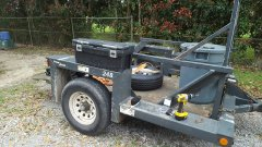 Power-lift trailer
