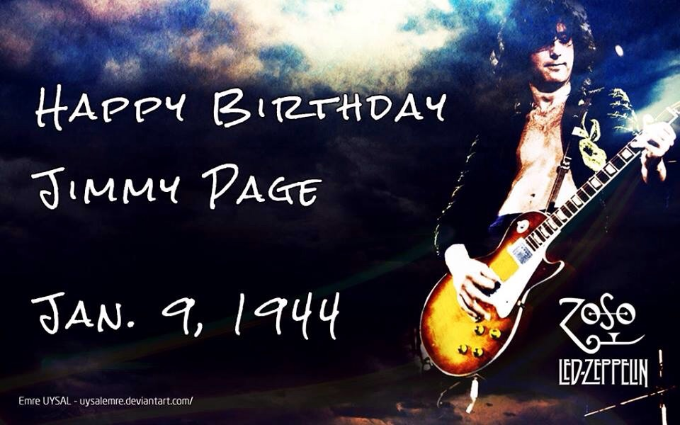 jimmy page birthday Happy Birthday Jimmy Page   Led Zeppelin Master Forum   Led  jimmy page birthday