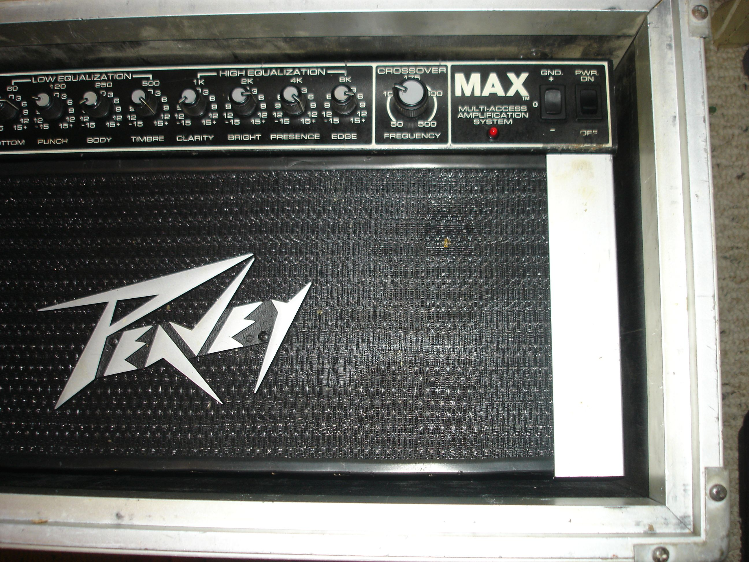Peavey max bass multi access amplification system musicians front rightg publicscrutiny Gallery