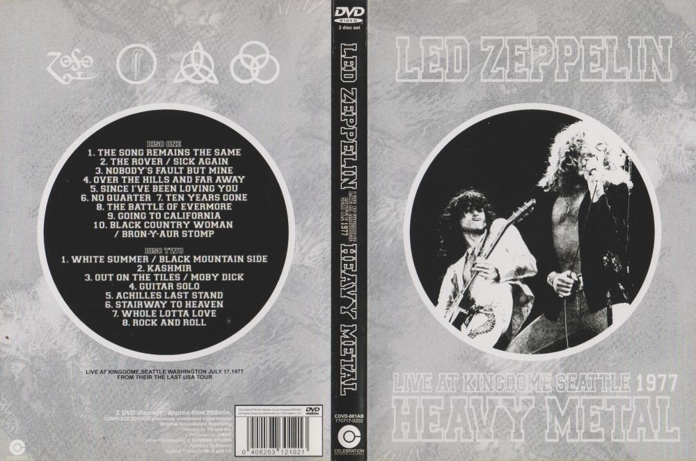 Led Zeppelin Kindome 1977 Celebration Label (front).jpg