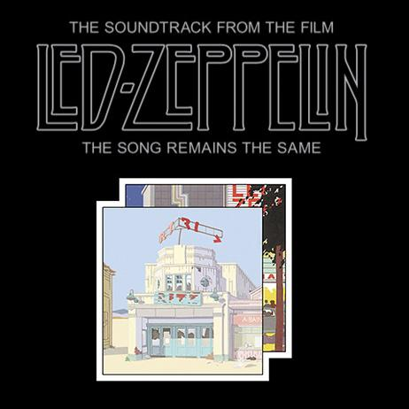 The Song Remains The Same soundtrack featuring newly remastered audio supervised by Jimmy Page, due Sept. 7, 2018