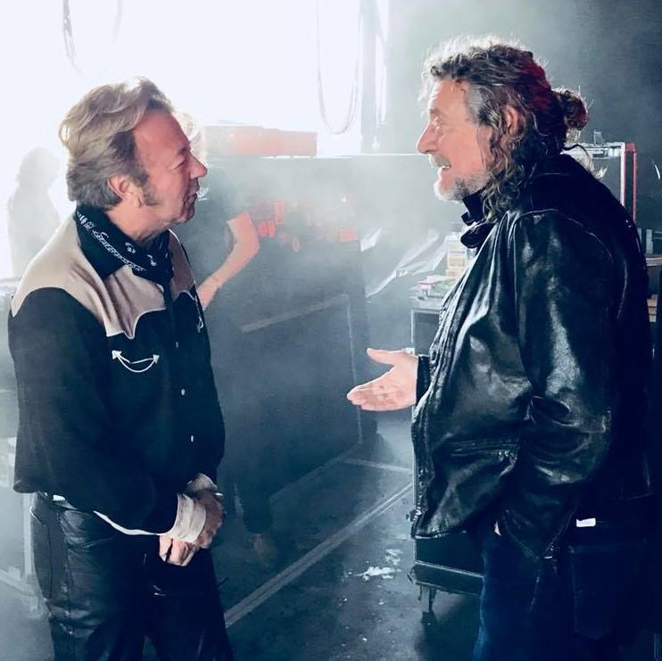 2018 09 22  001 Brian and Robert discuss the finer points of Rockabilly music.jpg