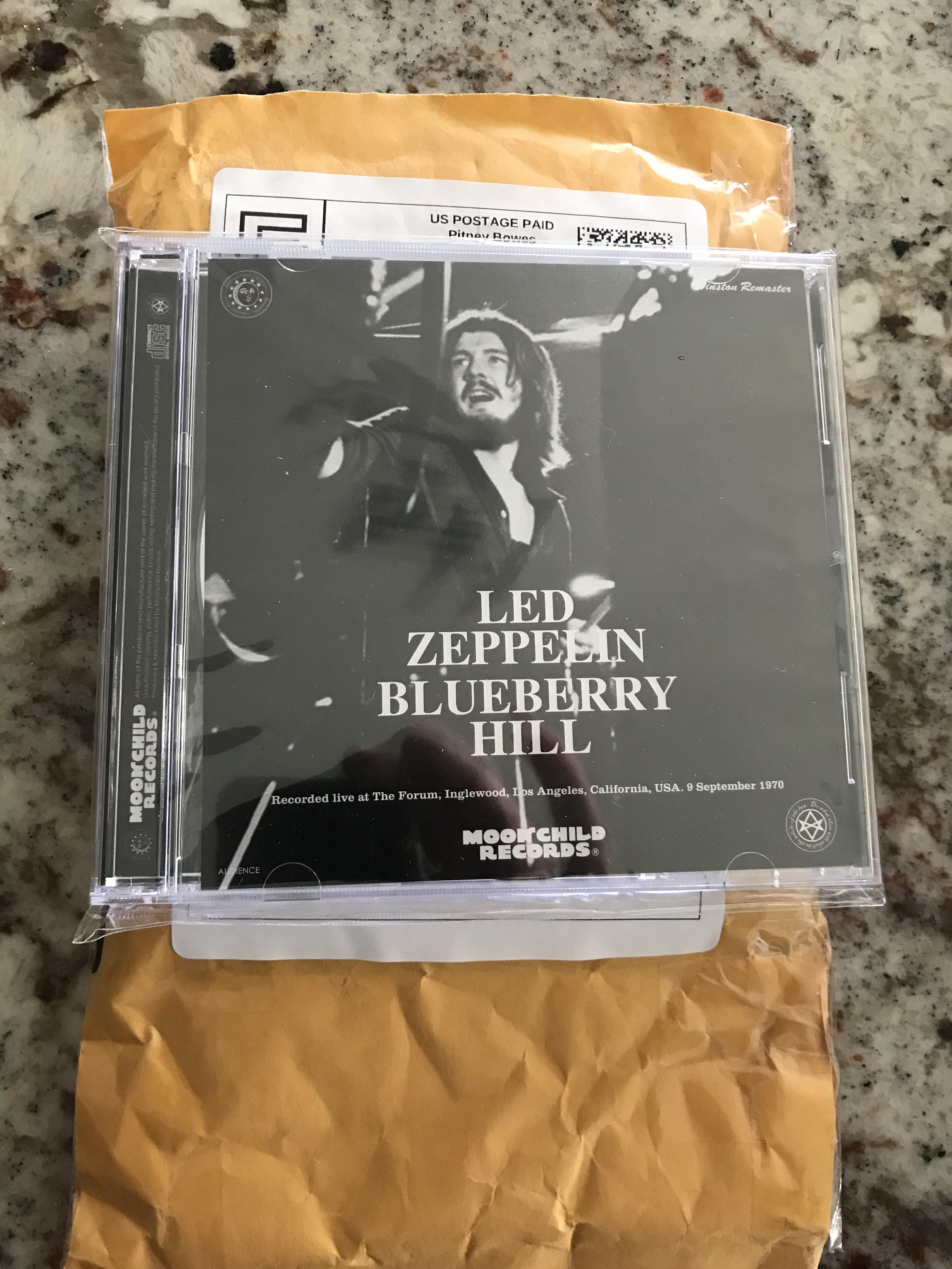 Definitive Blueberry Hill - Page 3 - Led Zep Live - Led