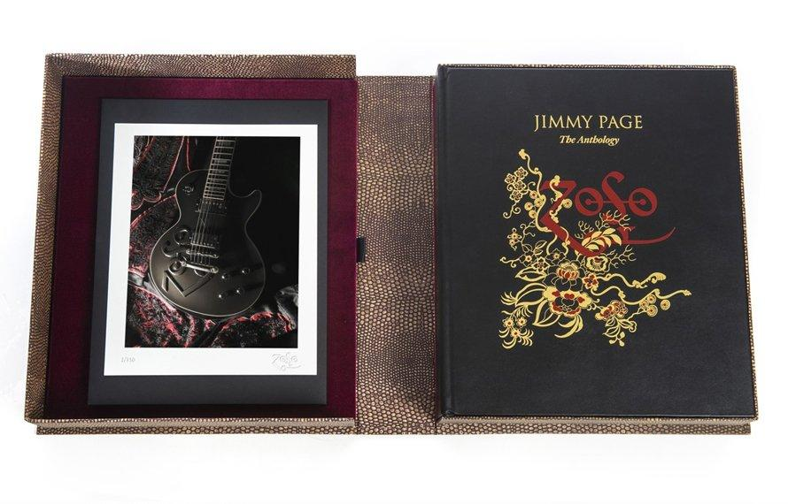 Jimmy Page - The Anthology Book - by Genesis