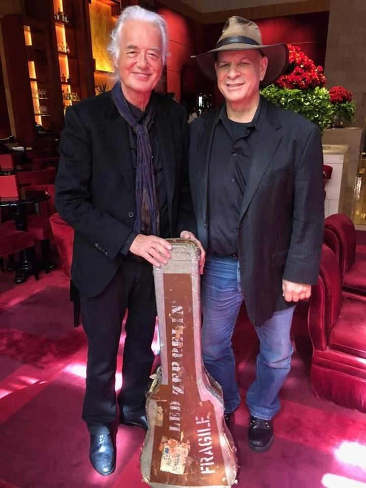 A GUITAR CASE STORY - Jimmy Page's Guitar Case Returned After 47 Years
