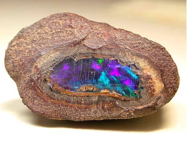 Yowah nut, containing a fabulous opal..jpg