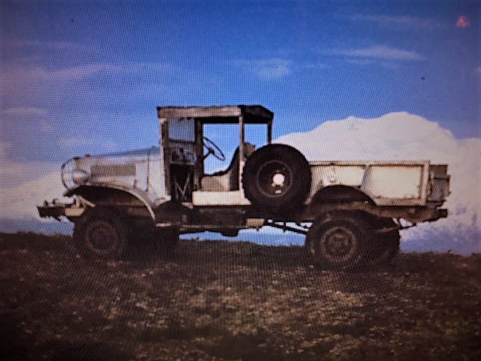 power wagon on ridge in front of McKinley.jpg