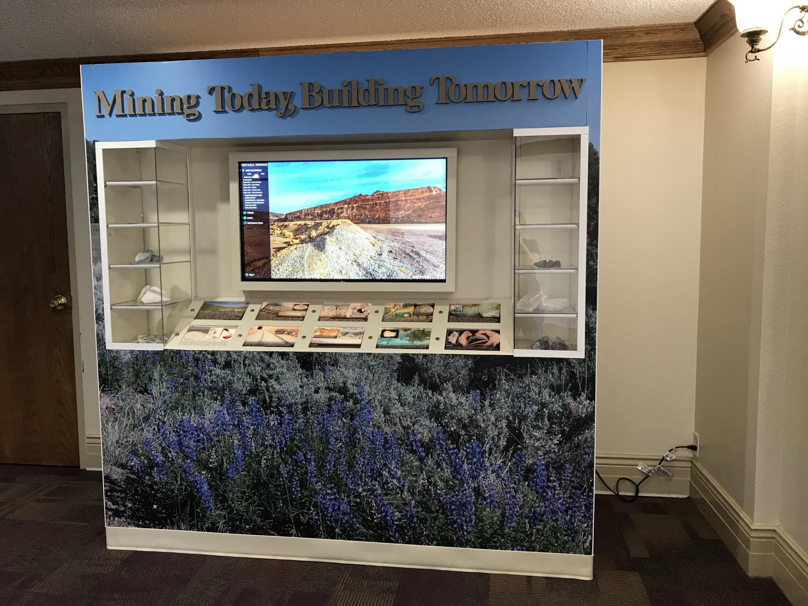 Nevada Mining Display