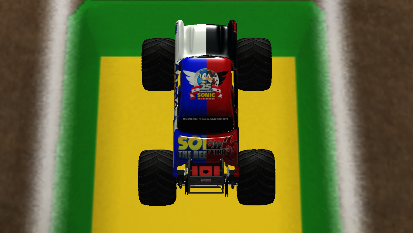 Sonic Monster Truck World Finals edition