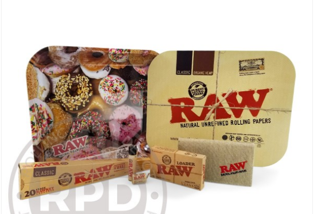 RESULTS RAW Donuts Mini Tray with Lid Bundle Giveaway #2