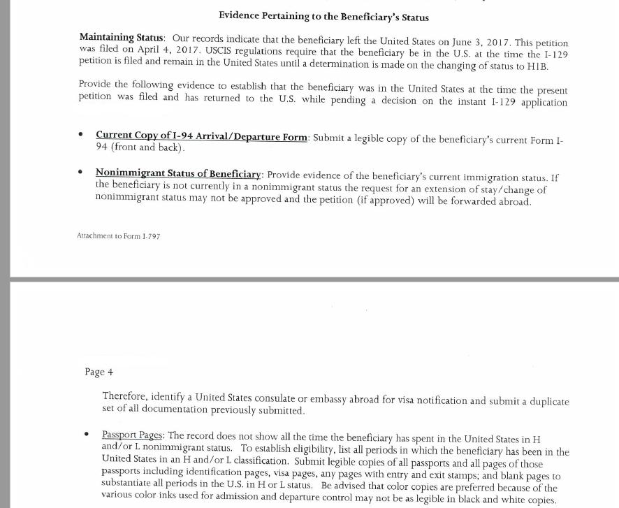 I got a RFE status from Uscis - RFE & Audits - Murthy Law Firm
