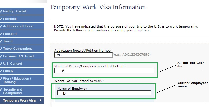 Ds 160 Form Help Needed H1b Visa Stamp Murthy Law Firm