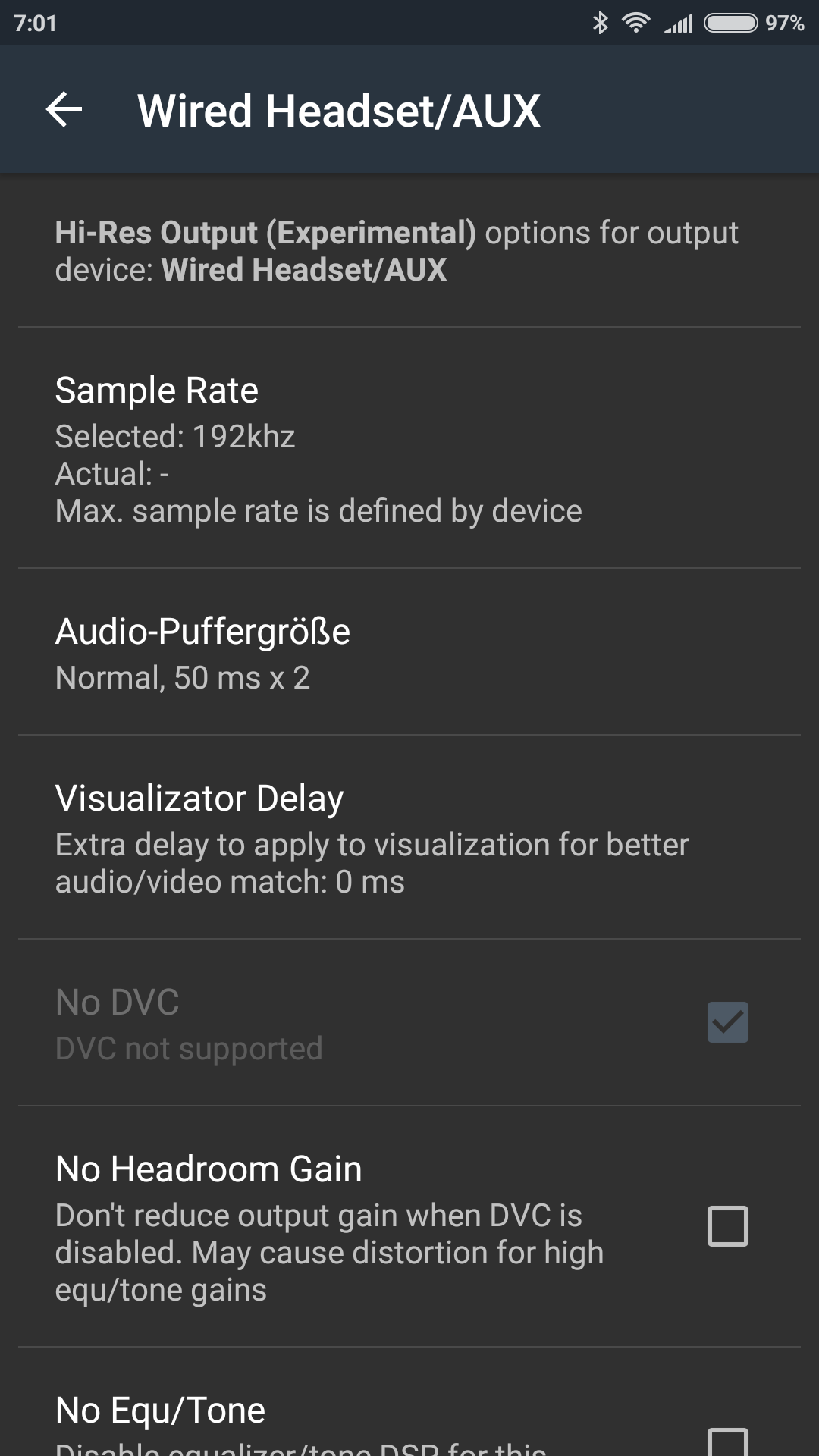 List of Android Devices with Hi-Res Audio Support (Internal