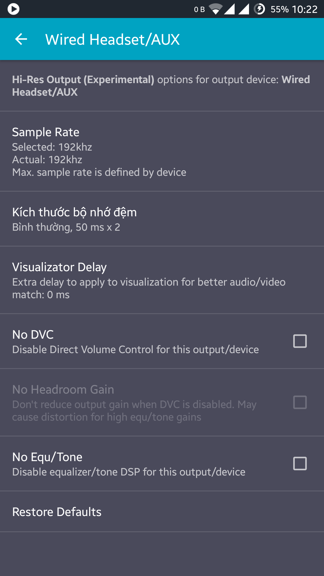 List of Android Devices with Hi-Res Audio Support (Internal DAC
