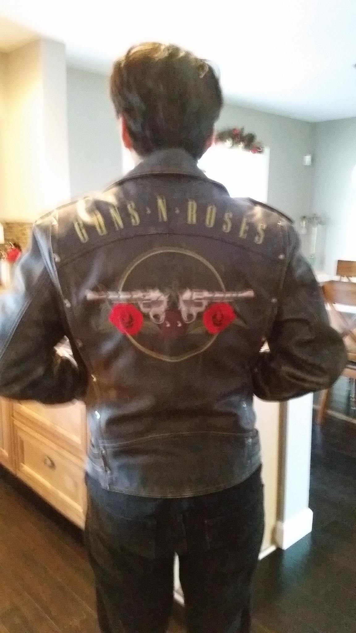 LEDERJACKE HEIN Gericke Speedware Guns N Roses Größe M