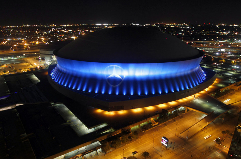Attractive 10166942 Essay. Sunday, July 31, 2016. New Orleans, LA. Mercedes Benz  Superdome