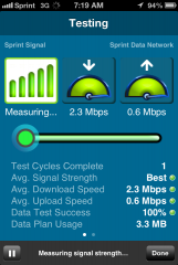 La Costa NV accepted speedtest