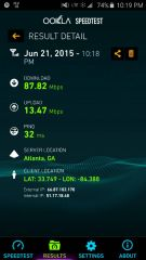 First B41 2xCA Speed Test Atlanta 24JUN2015