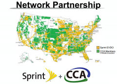 Sprint CCA Network Partnership Coverage