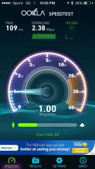 3g speed test vesta mn