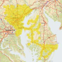 Sprint Market Map - Baltimore