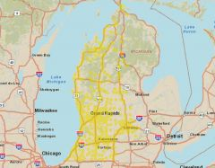 Sprint Market Map - West Michigan
