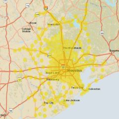 Sprint Market Map - Houston