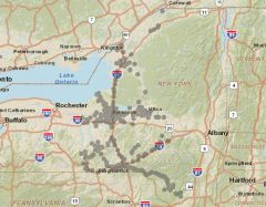 Sprint Market Map - Upstate NY Central