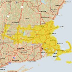 Sprint Market Map - Boston