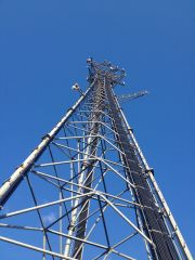 Beverly, MA NV Site Photo - Looking Up Tower
