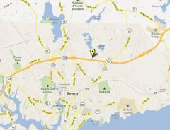 Beverly, MA NV Site Photo - Map of Network Vision Site