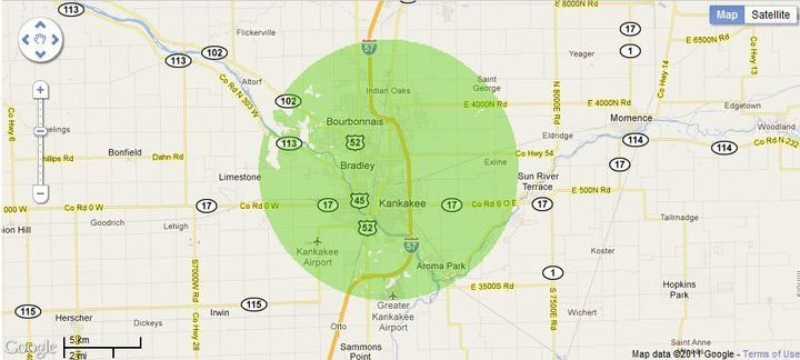 New 4G WiMax Protection Site in Kankakee, Illinois