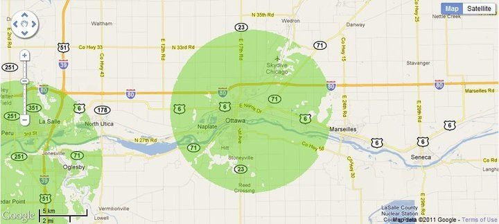 New 4G WiMax Protection Site in Ottawa, Illinois